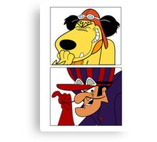 Dastardly & Muttley In Their Flying Machines Cool Stuff Canvas Print