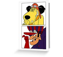 Dastardly & Muttley In Their Flying Machines Cool Stuff Greeting Card