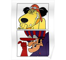 Dastardly & Muttley In Their Flying Machines Cool Stuff Poster