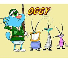 Character oggy Photographic Print