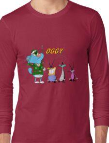 Character oggy Long Sleeve T-Shirt