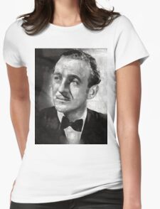 David Niven by MB Womens Fitted T-Shirt