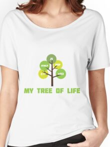 Programming tree of life Women's Relaxed Fit T-Shirt