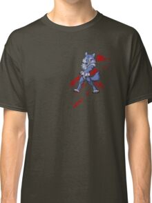Cute anthro blue wolf Classic T-Shirt