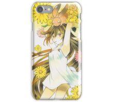 Pandora Hearts - Alice Black Rabbit (Sunflowers) iPhone Case/Skin