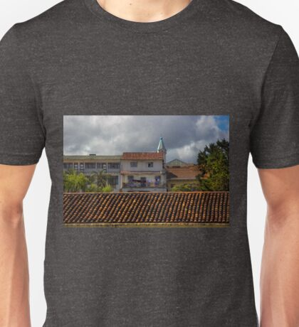 Upper View From the Medical Museum In Cuenca II Unisex T-Shirt