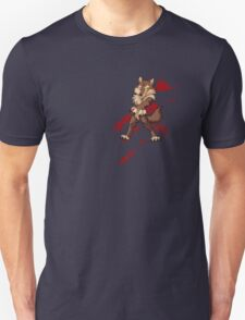 Cute anthro brown wolf Unisex T-Shirt