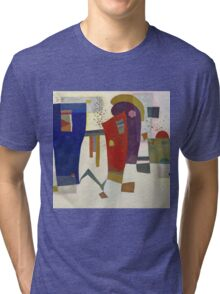 Kandinsky - Accompanied Contrast Tri-blend T-Shirt