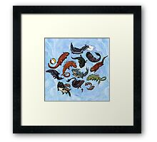 Lori and Friends Framed Print