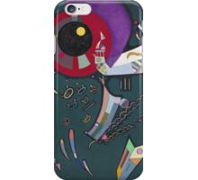 Kandinsky - Around The Circle iPhone Case/Skin