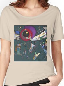 Kandinsky - Around The Circle Women's Relaxed Fit T-Shirt