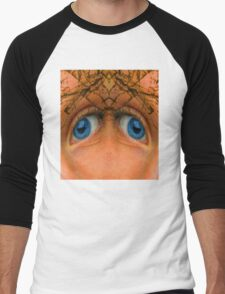 Eyes of an Alien Men's Baseball ¾ T-Shirt