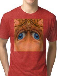 Eyes of an Alien Tri-blend T-Shirt