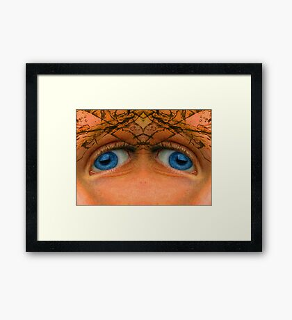 Eyes of an Alien Framed Print