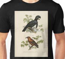 Bilder atlas zur Wissenschaftlich populären Naturgeschichte der Vögel in ihren sämmtlichen Hauptformen Leopold Joseph Fitzinger 1864 054 Unisex T-Shirt