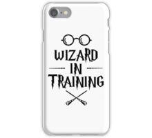 Wizard in training HP iPhone Case/Skin