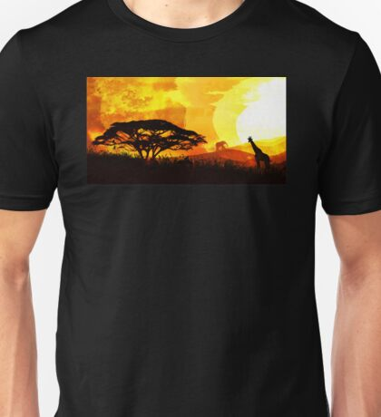 Into Red Depths Unisex T-Shirt