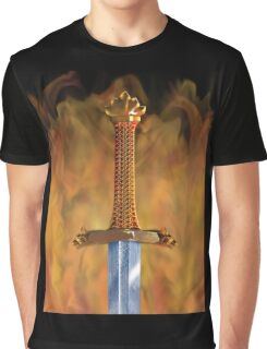 VIKINGS, Viking Sword, Valhalla's Swordsmith, Norse mythology, Norsemen Graphic T-Shirt