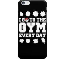 Pokemon gym iPhone Case/Skin