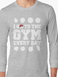 Pokemon gym Long Sleeve T-Shirt