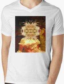 Alien Party Mens V-Neck T-Shirt