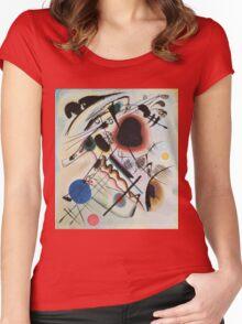 Kandinsky - Black Spot 1921  Women's Fitted Scoop T-Shirt