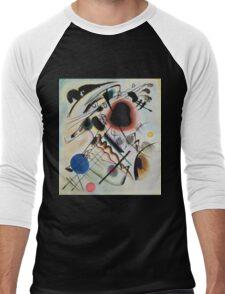 Kandinsky - Black Spot 1921  Men's Baseball ¾ T-Shirt