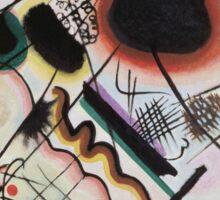 Kandinsky - Black Spot 1921  Sticker