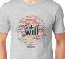 Romans 9 Typography Art Unisex T-Shirt