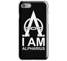 I am Alpharius (Alternate) iPhone Case/Skin
