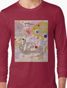 Kandinsky - Capricious Forms Long Sleeve T-Shirt
