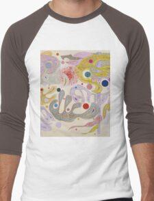 Kandinsky - Capricious Forms Men's Baseball ¾ T-Shirt