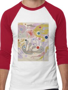 Kandinsky - Capricious Forms Men's Baseball ¾ T-Shirt
