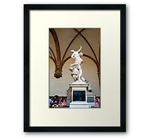 People and Art are the best elements on Earth Framed Print