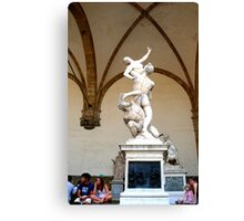 People and Art are the best elements on Earth Canvas Print
