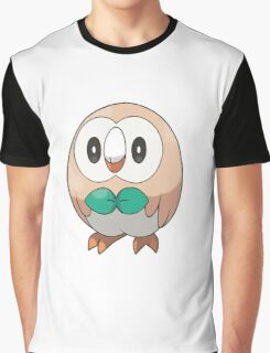 Rowlet New Pokemon (Pokemon Sun and moon) Graphic T-Shirt