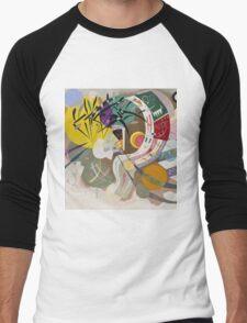 Kandinsky - Dominant Curve Men's Baseball ¾ T-Shirt