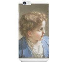 Boy in a Blue Jacket , Benedetto Luti iPhone Case/Skin