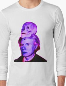 Mortality of Andy Warhol Long Sleeve T-Shirt