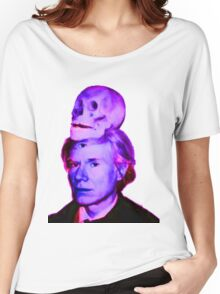 Mortality of Andy Warhol Women's Relaxed Fit T-Shirt