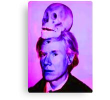 Mortality of Andy Warhol Canvas Print