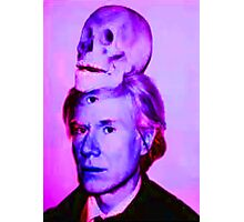 Mortality of Andy Warhol Photographic Print