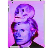Mortality of Andy Warhol iPad Case/Skin