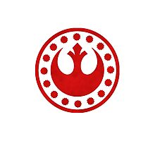 Rebel Alliance Symbol Photographic Print