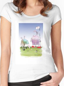 """""""and another thing...."""" tony fernandes Women's Fitted Scoop T-Shirt"""
