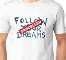 Banksy - Follow your dreams (part) Unisex T-Shirt