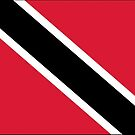 Trinidad and Tobago Flag Stickers by Mark Podger