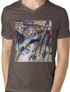 Kandinsky - Improvisation 28 Mens V-Neck T-Shirt