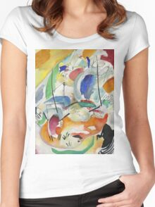 Kandinsky - Improvisation 31 Women's Fitted Scoop T-Shirt