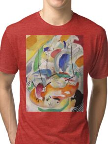 Kandinsky - Improvisation 31 Tri-blend T-Shirt